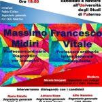 Lunedi 21 giugno incontro con i candidati a Rettore all'Università degli Studi di Palermo